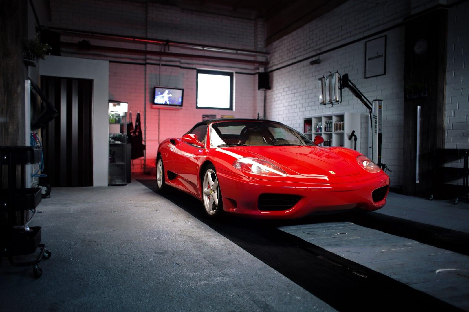Ferrari 460 Spider in Detailing Studio Giedrius Matulaitis matulaitis.lt