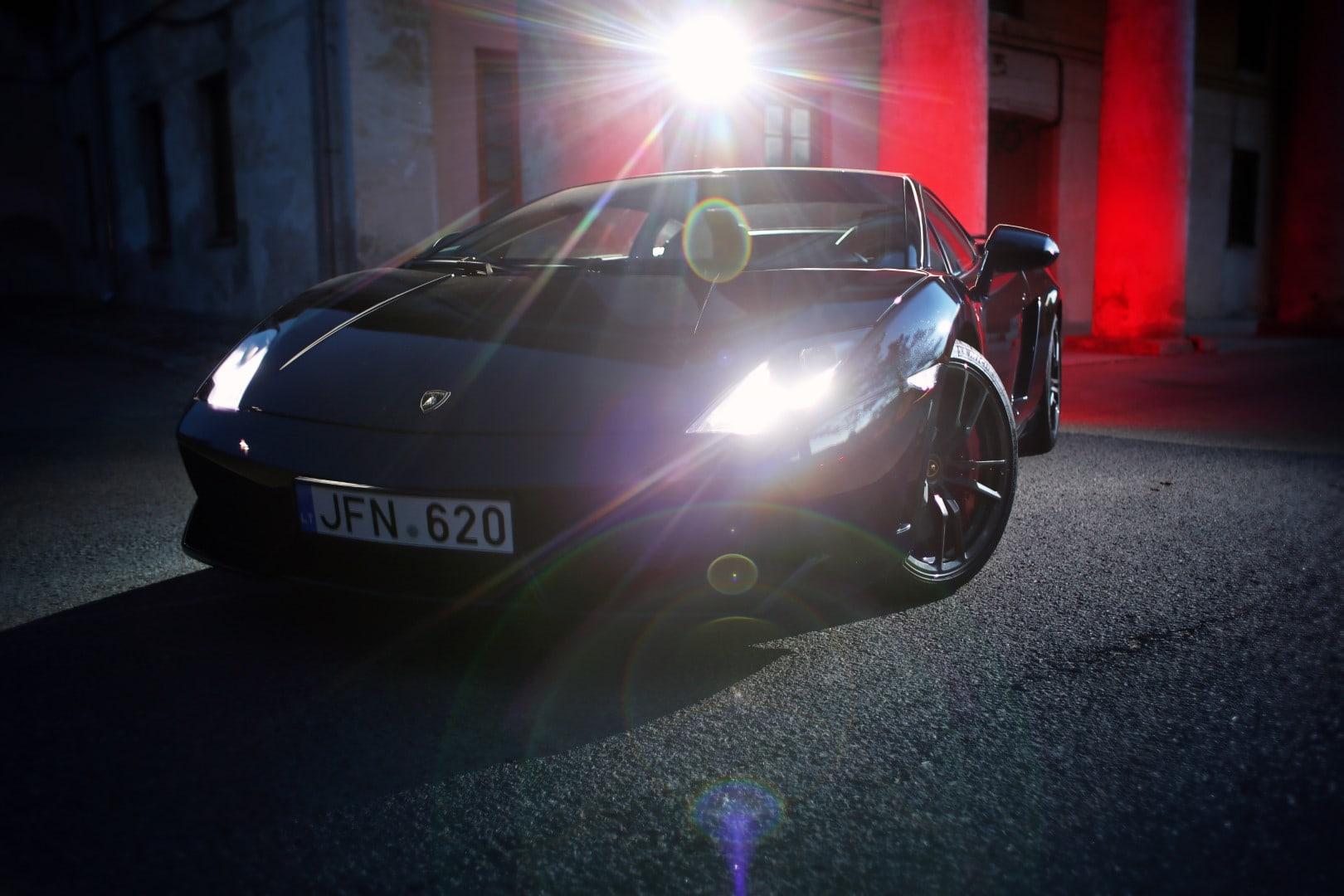 Lamborghini Gallardo Night Shot Giedrius Matulaitis matulaitis.lt