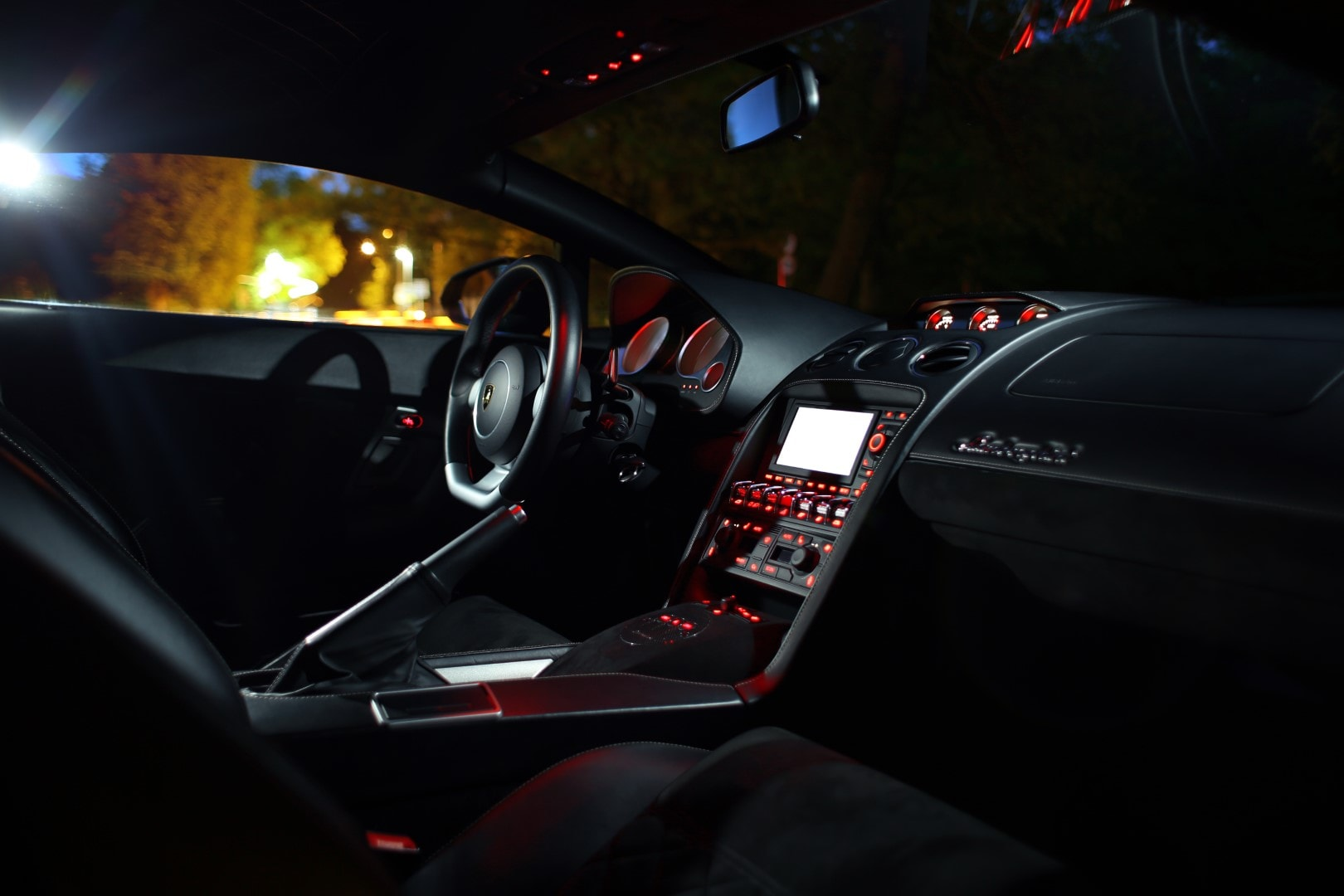 Lamborghini Gallardo Night Shoot Giedrius Matulaitis matulaitis.lt