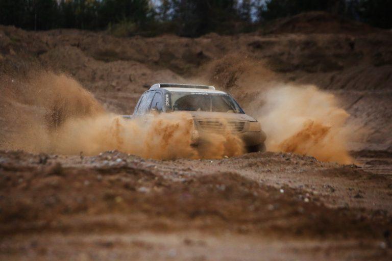 Team Pitlane Toyota Hilux tests before Dakar Rally Giedrius Matulaitis matulaitis.lt