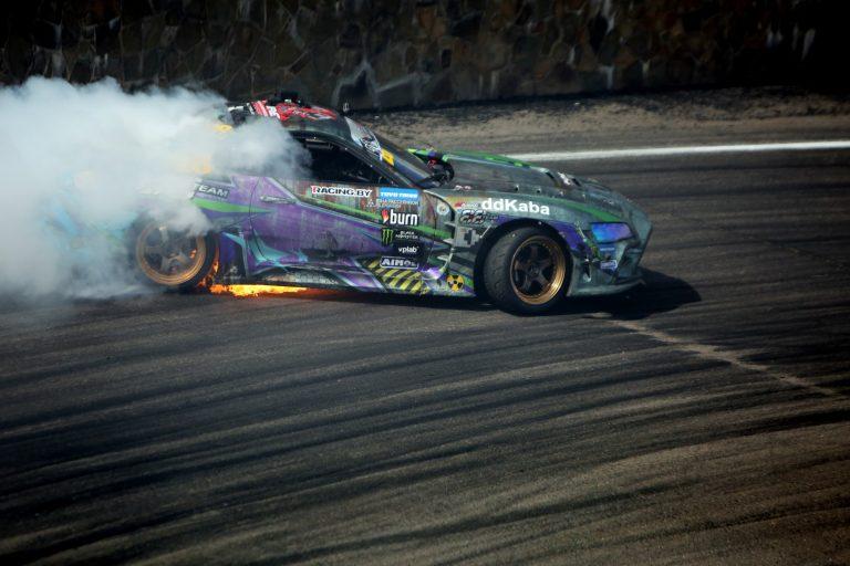 Fire Breathing Toyota Supra Giedrius Matulaitis matulaitis.lt
