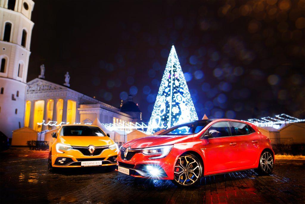 Renault Megane RS Vilniaus Katedros aikštėje Giedrius Matulaitis matulaitis.lt